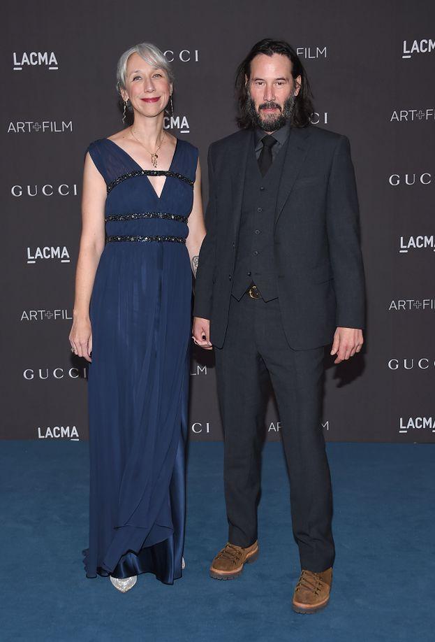 Nowa dziewczyna Keanu Reevesa jest mylona z... Hellen Mirren. Aktorka komentuje!