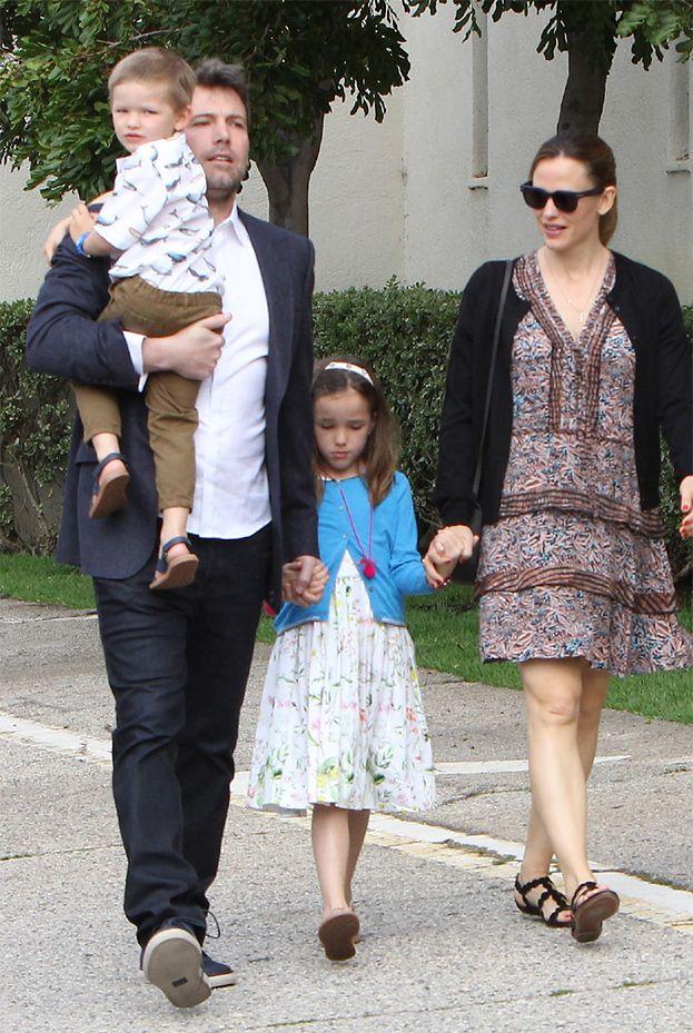 Ben Affleck i Jennifer Garner spędzili razem święta (ZDJĘCIA)
