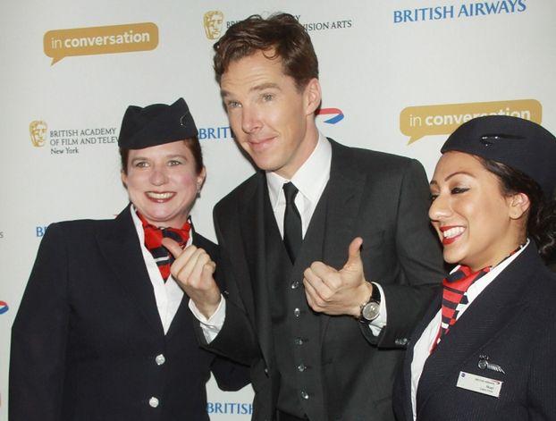 Benedict Cumberbatch ZARĘCZYŁ SIĘ!