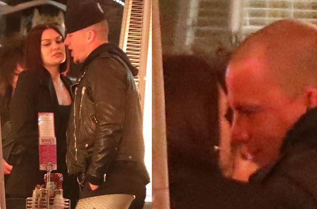 Zakochani Channing Tatum i Jessie J szepczą sobie czule do ucha na randce (FOTO)
