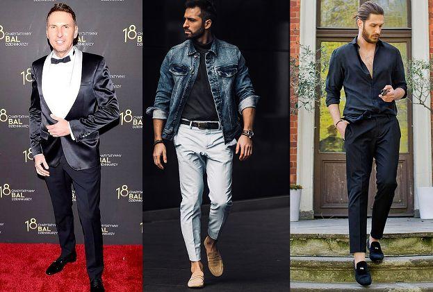 Jakie spodnie w kant wybierają celebryci?