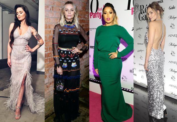 Najpiękniejsze sukienki wieczorowe - 5 stylizacji gwiazd