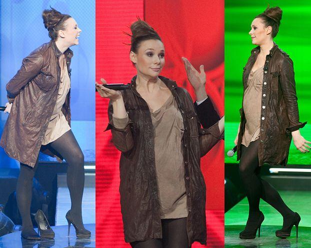 Ciężarna Bohosiewicz tańczy i śpiewa (ZDJĘCIA)