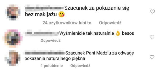 """Naturalna Magda Gessler pozdrawia obserwujących na Instagramie. Fani odpływają: """"Szacunek ZA ODWAGĘ"""""""