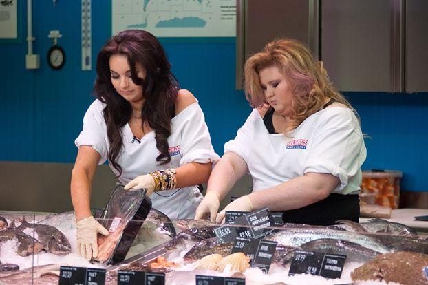 Grycanki SPRZEDAJĄ RYBY w supermarkecie! (ZDJĘCIA)