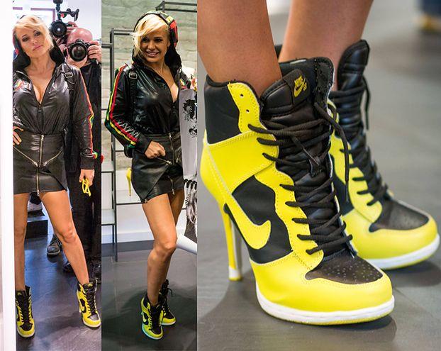 Doda w podróbkach Nike! ZNOWU...