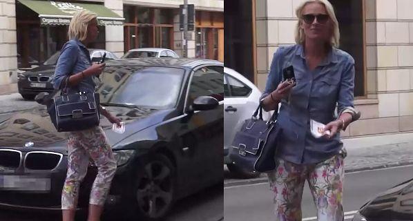 Odeta Moro dostała mandat za złe parkowanie!
