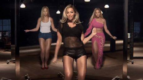 Beyonce tańczy w nowej reklamie!