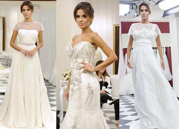 Siwiec przymierza suknie ślubne (ZDJĘCIA)