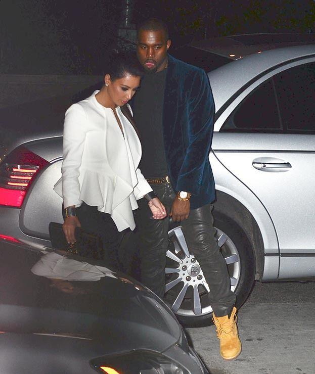 Kim i Kanye ZARĘCZYLI SIĘ!