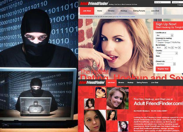 Haker wykradł dane 3,9 miliona użytkowników Adult Friend Finder!