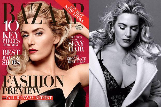 "Seksowna Kate Winslet w ""Harper's Bazaar""! (FOTO)"