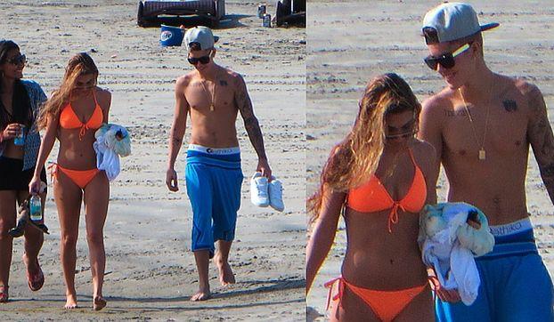 Bieber BEZ KOSZULKI I Z KOCHANKĄ... w Panamie! (FOTO + WIDEO)