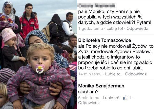 """Bibliotekarka ZWOLNIONA ZA WPIS o imigrantach: """"Proponuję iść i dać się im ZGWAŁCIĆ!"""""""