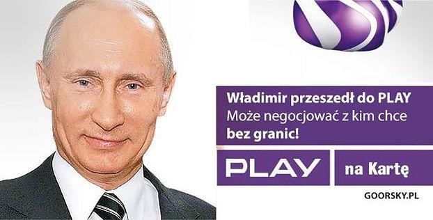 """Play o memie z Putinem: """"JEST ULTRA SŁABY!"""""""