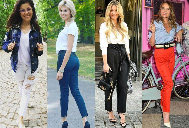 Najmodniejsze spodnie na lato – jakie wybierają celebrytki?