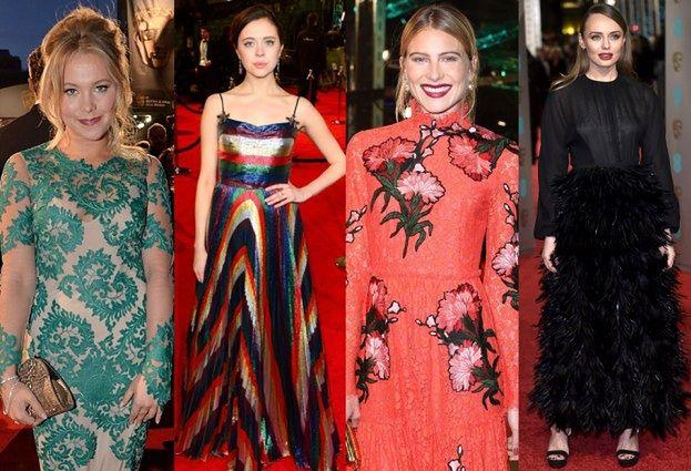 NAJGORSZE sukienki z gali BAFTA (ZDJĘCIA)