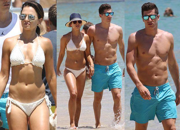 Lewandowscy na wakacjach! Zobaczcie Anię w bikini i klatę Lewego (ZDJĘCIA)