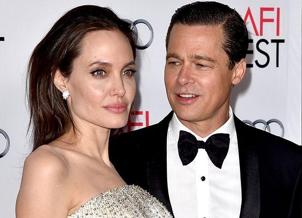 """Angelina Jolie NIE CHCIAŁA WYJŚĆ za Brada Pitta? """"Wywierał na niej presję"""""""