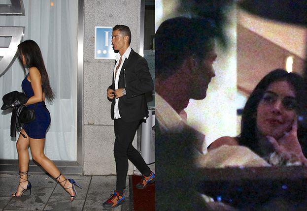 Cristiano Ronaldo na randce z nową dziewczyną (ZDJĘCIA)