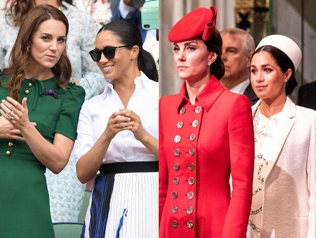 """Meghan Markle i Kate Middleton już się pogodziły? """"Więź między księżnymi jest coraz mocniejsza"""""""