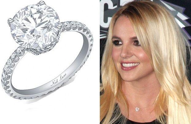 Pierścionek Britney kosztował 92 tysiące dolarów!