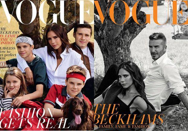 """Victoria Beckham o Davidzie w """"Vogue'u"""": """"Zorientowaliśmy się, że razem jesteśmy najsilniejsi"""" (FOTO)"""