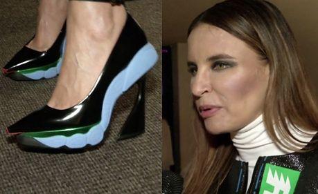 Horodyńska w butach od Diora!