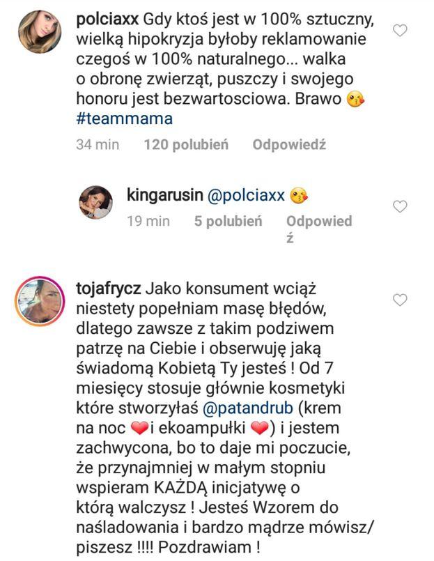 """Pola Lis też atakuje Rozenek: """"Jest w 100 procentach SZTUCZNA!"""""""