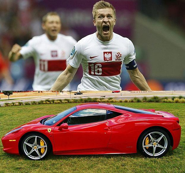 Błaszczykowski kupił Ferrari! ZA 1,5 MILIONA?!
