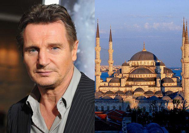 """Liam Neeson po powrocie z Turcji: """"Meczety SĄ ZACHWYCAJĄCE, myślę o zostaniu muzułmaninem"""""""