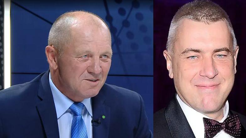 """Marek Sawicki porównuje Romana Giertycha do Józefa Piłsudskiego. """"Od młodego narodowca do socjalisty"""""""