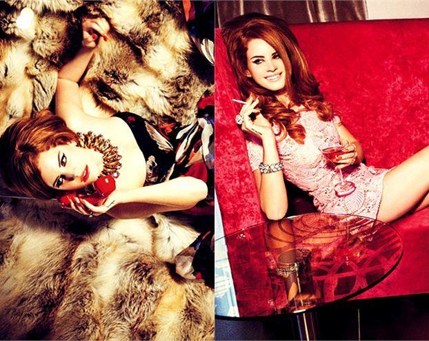 Lana Del Rey pozuje na futrze (FOTO)