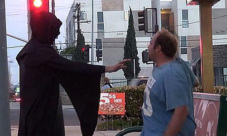 """Straszyli ludzi """"dotykiem dementora""""..."""