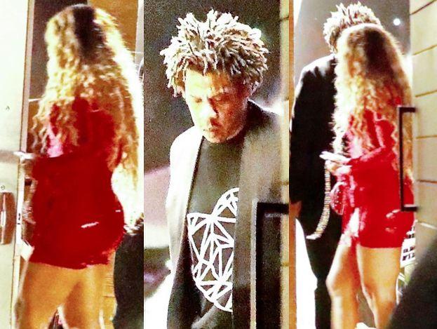 Owinięta w czerwony lateks Beyonce świętuje walentynki w towarzystwie męża (FOTO)