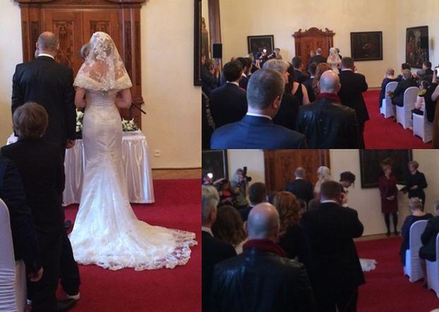 Tylko u nas: PIERWSZE ZDJĘCIA ze ślubu Haliny Mlynkovej i Leszka Wronki!