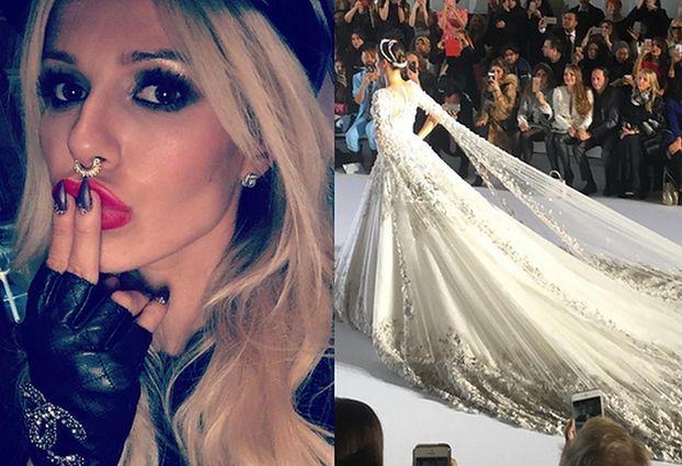 Doda znalazła suknię ślubną... na Tygodniu Mody w Paryżu!