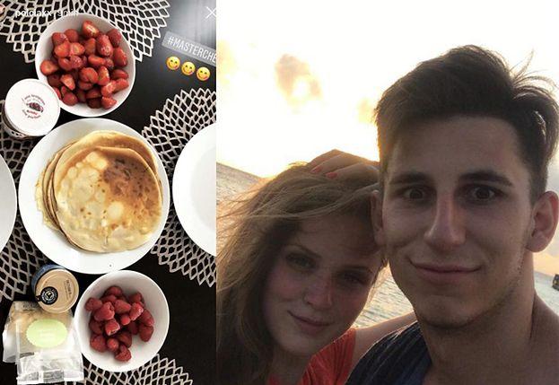Pola Lis z chłopakiem chwalą się wspólnym śniadaniem (FOTO)