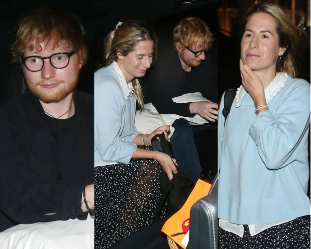 Hojny Ed Sheeran zabrał żonę na NAJDROŻSZE SUSHI w Londynie
