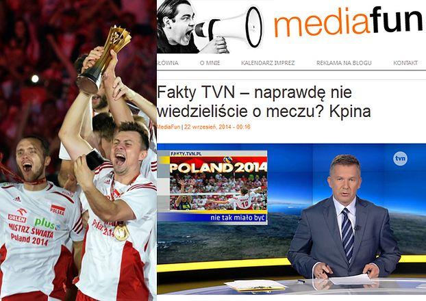 """W """"Faktach"""" TVN ani słowa o siatkarzach! Bo... grali w Polsacie?"""