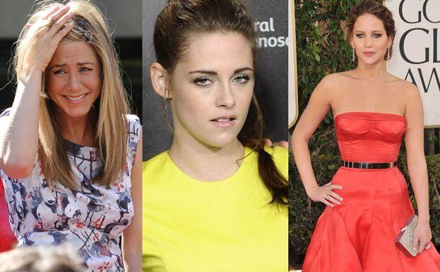 Kristen nienawidzi Lawrence, Aniston i Perry?