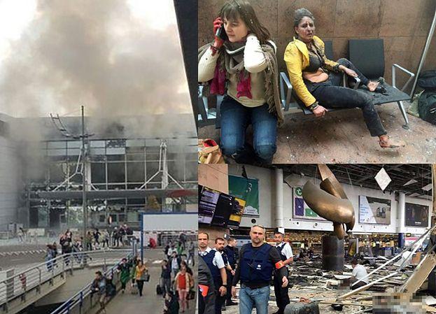 Wybuchy na lotnisku i w metrze w Brukseli! Jest 13 ofiar śmiertelnych!