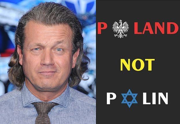 """Jarosław Jakimowicz wyraża na Facebooku niechęć do Żydów: """"POLAND NOT POLIN"""""""