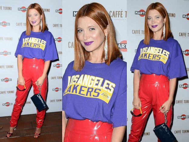 Ada Fijał bryluje na imprezie w koszulce Lakersów. Gra w kosza?