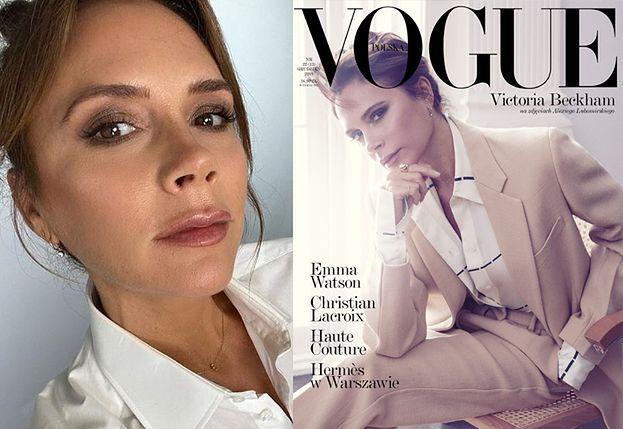 """Victoria Beckham pojawi się na okładce grudniowego wydania """"Vogue Polska""""! (FOTO)"""