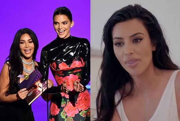 """Kim Kardashian i Kendall Jenner WYŚMIANE podczas gali Emmy 2019. """"Najważniejsze są PRAWDA I BYCIE SOBĄ"""""""