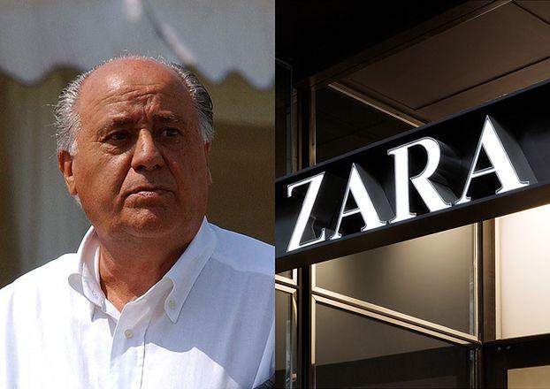 Współzałożyciel Zary jest NAJBOGATSZYM człowiekiem w Europie!