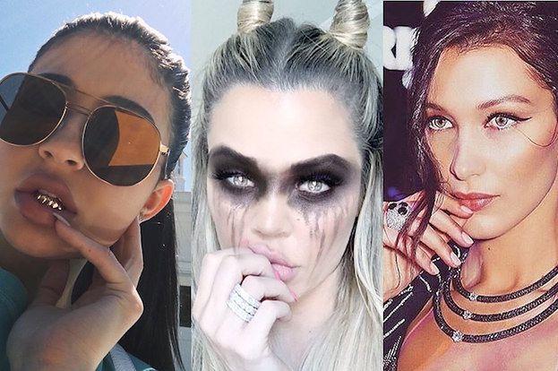 Nowa moda na Instagramie: zdjęcia z... palcami na ustach (ZDJĘCIA)
