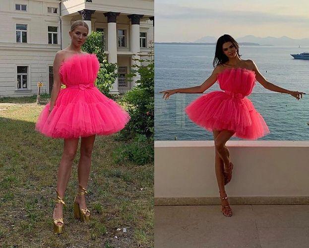 Jessica Mercedes i Kendall Jenner w takich samych sukienkach. Która wyglądała lepiej? (FOTO)