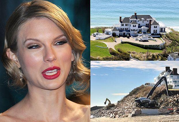 Sąsiedzi mają dość Taylor Swift! Buduje MUR NA PUBLICZNEJ PLAŻY!